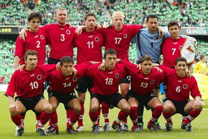 albanische fußball liga