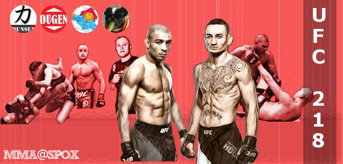 Banner für UFC 218